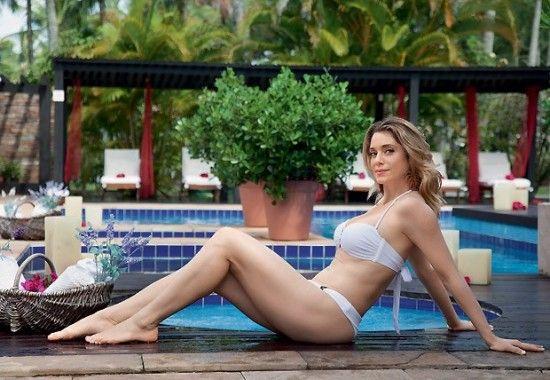 Letícia Spiller nua em fotos para revista masculina