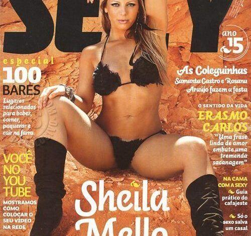 Fotos da Sheila Mello nua pelada