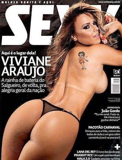 Fotos da Viviane Araujo pelada nua